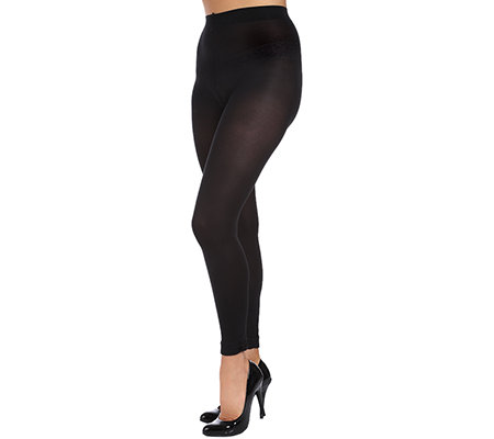 LEGACY Leggings, 7/8 Satinschleife 60den 2er Pack