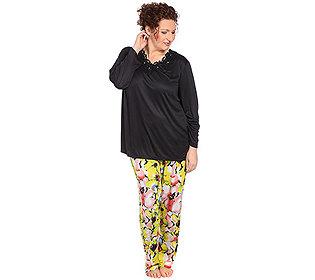 Pyjama Spitzendetail