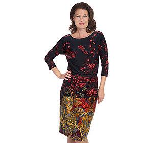 Kleid Blousonform