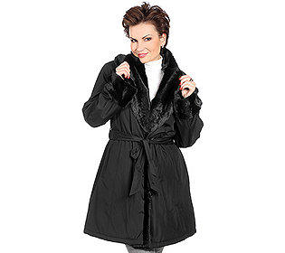 Mantel Schalkragen