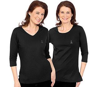2 Shirts unifarben