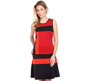 Kleid Patch-Optik