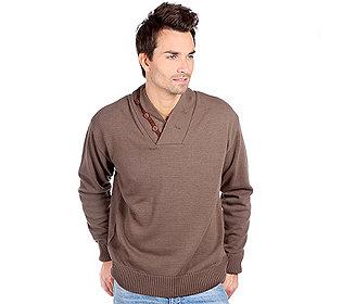 Pullover Zierknöpfe
