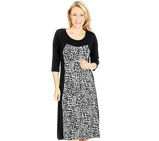 Kleid Tupfen-Print