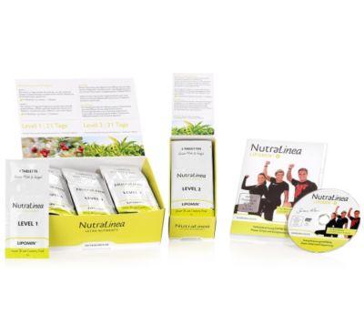 NUTRALINEA Lipomin 2 Phasen-Programm zur Fettverbrennung für 8 Wochen inkl.DVD