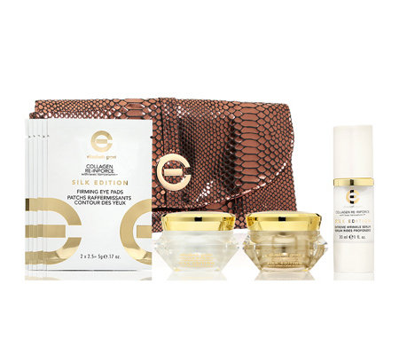 ELIZABETH GRANT COLLAGEN Silk Edition Gesichtspflegeset 4-tlg.