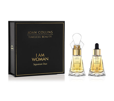 JOAN COLLINS Timeless Beauty I AM WOMAN Fragrance Duo EdP & Duft-Essenz