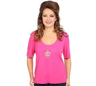 Shirt Kronenstickerei