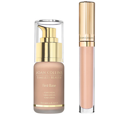 JOAN COLLINS Timeless Beauty Flawless Collection Foundation & Concealer, 2-tlg.