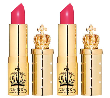 POMPÖÖS DESIGN by Harald Glöckler Luxury Color Shock Lipstick Duo Lotus Pink