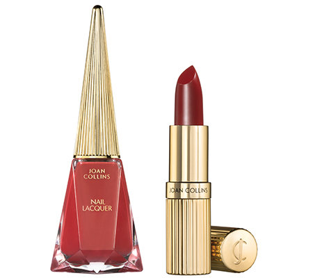 JOAN COLLINS Timeless Beauty Perfect Partners Lippenstift & Nagellack, 2-tlg.