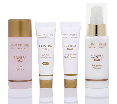 JOAN COLLINS Timeless Beauty Contra Time Pflegeset 4-tlg.