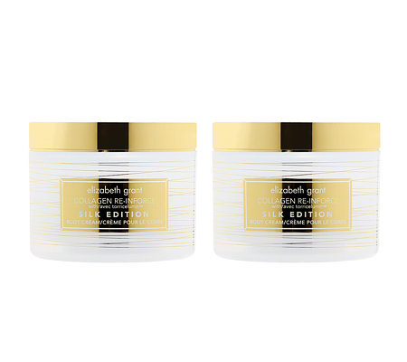 ELIZABETH GRANT COLLAGEN Silk Body Cream 2x 200ml