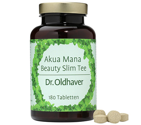 DR. OLDHAVER Akua Mana Beauty-Slim-Tee 180 Tabletten für 30 Tage