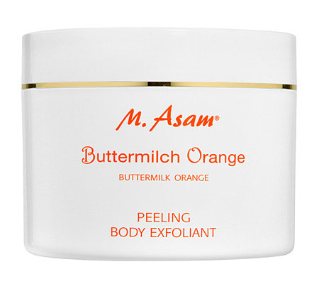 M.ASAM Buttermilch-Orange Körperpeeling 600g