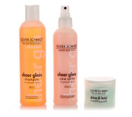 OLIVER SCHMIDT Shampoo, Care Spray & Modelling Paste Geschenk-Set, 3tlg.