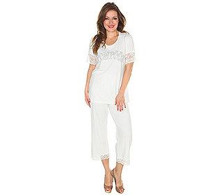 Pyjama Spitze & Strass