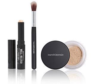 Make-up-Set mit Pinsel