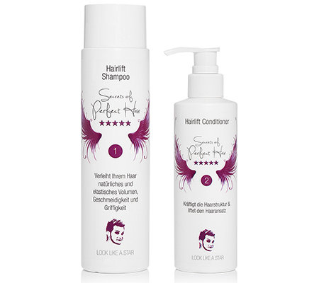 SECRETS OF PERFECT HAIR by Sebastian B. Hairlift Shampoo & Conditioner 2tlg.
