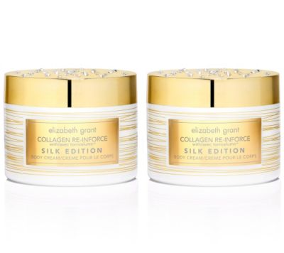 ELIZABETH GRANT COLLAGEN Silk Body Cream Sondergrößen 2x400ml