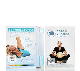 7 DVDs Fitnessprogramm