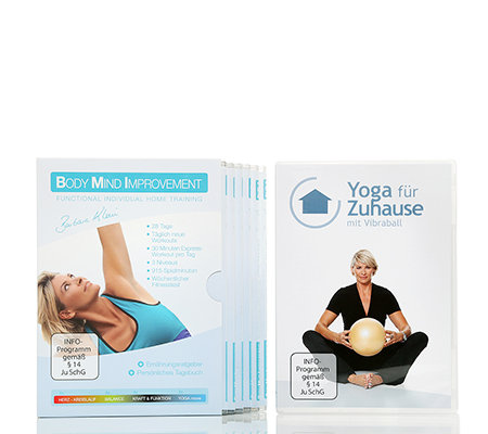FLEXI SPORTS Body Mind Improvement Yoga Special mit 7 DVDs