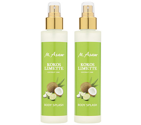 M.ASAM Kokos Limette Bodysplash Duo 2x 150ml