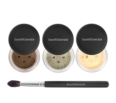 bareMinerals Eye Club Lidschatten-Set mit Pinsel 4-tlg.