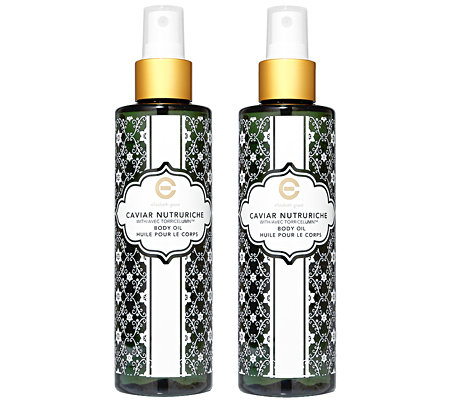 ELIZABETH GRANT CAVIAR Body Oil Duo 2x 200ml