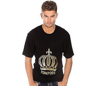 Herren-Shirt Goldfolie