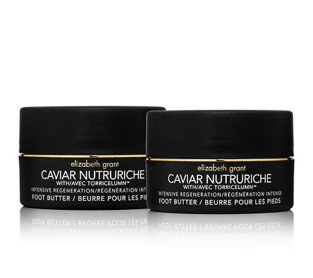 ELIZABETH GRANT CAVIAR Foot Butter Duo 2x100ml