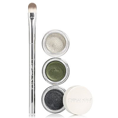 NEW CID Cosmetics I-Color Trio, 3 cremige Lidschatten mit Pinsel