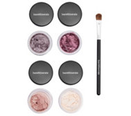 bareMinerals® Eyeshadow Kollektion mit Pinsel 5tlg.