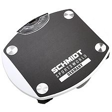 SCHMIDT SPORTSWORLD Vibrationsplatte 3 Programme mit LED-Display und DVD