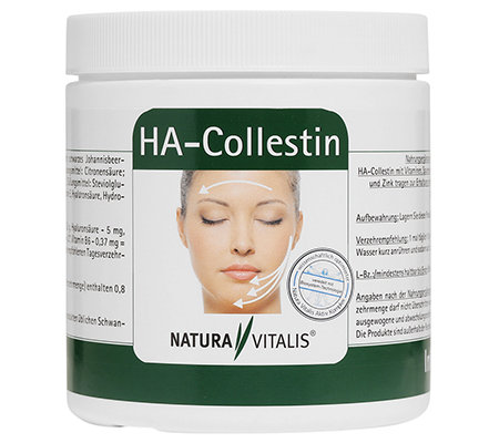 NATURA VITALIS HA-Collestin-Drink Collagen, Hyaluron & Elastin 400g