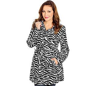 Mantel Zebra-Druck
