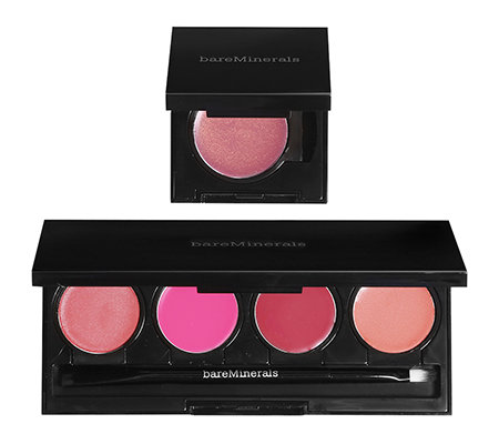 bareMinerals® Work of Art Marvelous Moxie Lippenstift Pallete mit Pinsel