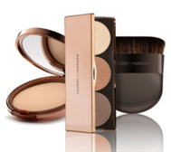 NUDE BY NATURE Contour Look Kit mit Foundation & Contour Palette inkl. Pinsel, 3tlg.
