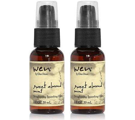 WEN by Chaz Dean Straightening Smoothing Gloss Glanzserum 2x 30ml