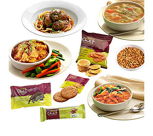 Komplettpaket Mahlzeiten