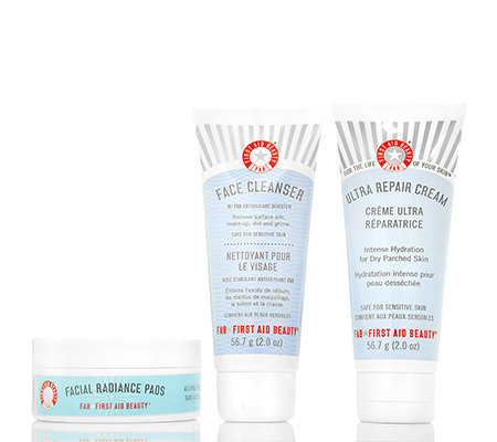 FIRST AID BEAUTY Faves to go kit Gesichts- pflege-Set 3-tlg.