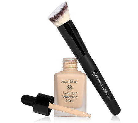 DOLL NO.10 HydraFluid Foundation Drops mit Pinsel