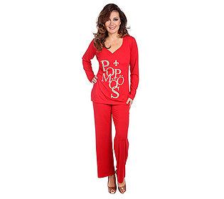 Pyjama Herz-Ausschnitt