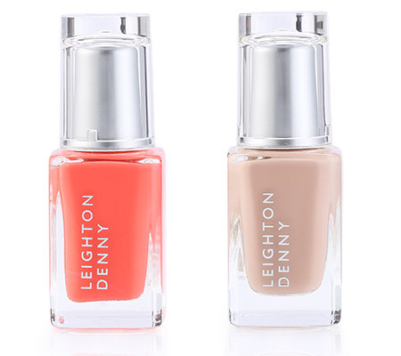LEIGHTON DENNY Nagellack-Duo International Classic pink & beige 2x 12ml