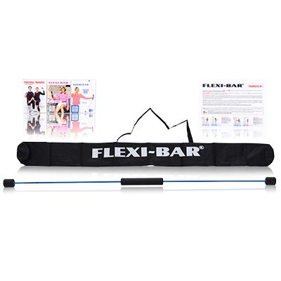 FLEXI SPORTS Flexi-Bar 3 Trainings-DVDs Trainingsplan & Tasche