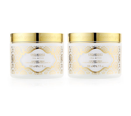 ELIZABETH GRANT EXCLUSIVES 24h Cell Active Body Cream 2x 200ml