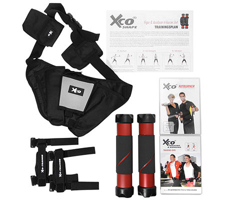 FLEXI-SPORTS XCO-Trainer 2 Trainings-DVDs, 2 Trainingspläne Outdoor-Gürtel