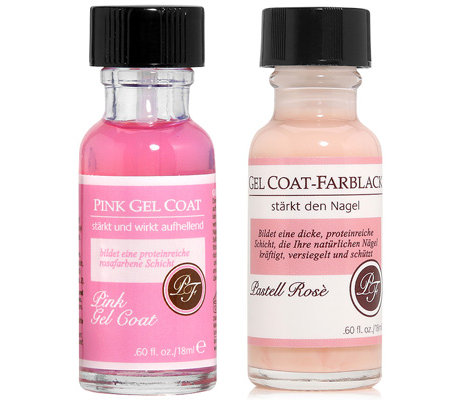 PERFECT FORMULA Gel Coat Duo pink Gel Coat & Gel Coat pastell rosé 2x 18ml