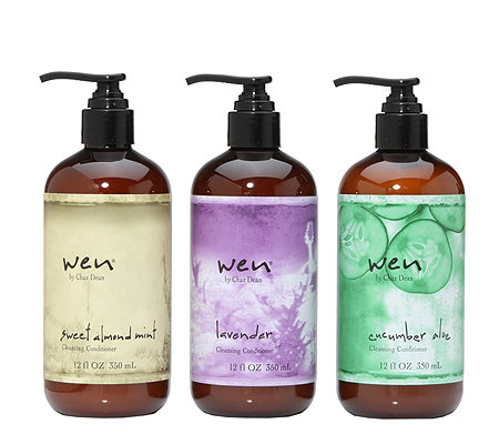WEN® by Chaz Dean Cleansing Conditioner in 3 verschiedenen Duft- varianten, 3x 350ml