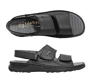 Herren-Sandale aus Leder